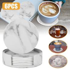 Ceramic, Coasters, Home Decor, Cup