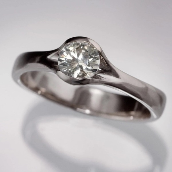 White Gold, silver plated, DIAMOND, Jewelry