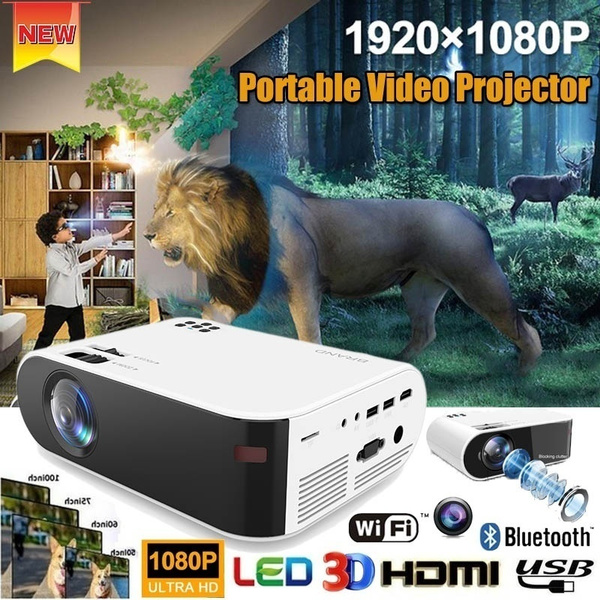 Mini, Home Theater & TVs, projector, Hdmi