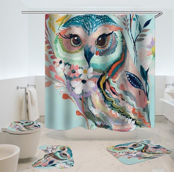 Owl, Bathroom, Bathroom Accessories, bathroomsuit