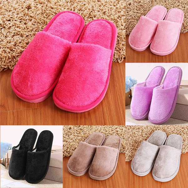 Slippers, Winter, Family, cute