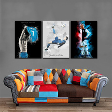 decoration, Football, Canvas, Home & Living