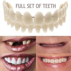 dentureupperlowershade, falsetooth, acrylicresinteeth, artificialteeth