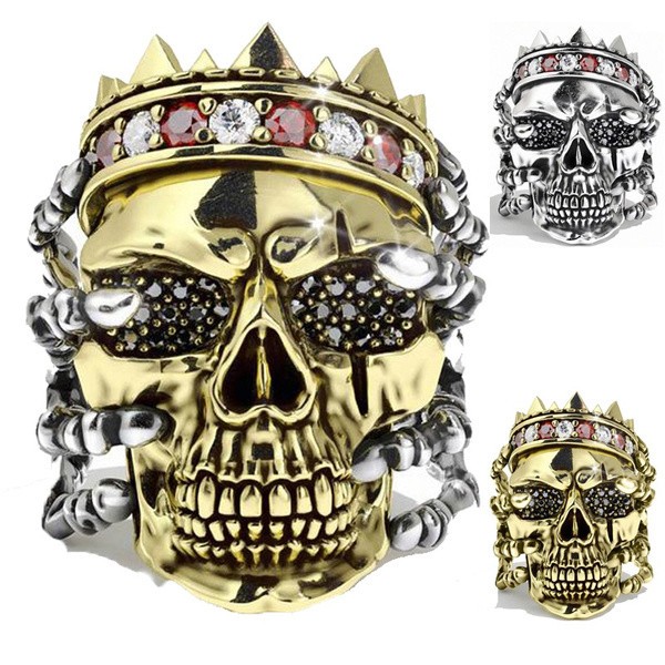 goldplated, King, Head, coolring