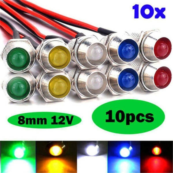 energysavingledlamp, 8MM, indicatorlightbulb, lights