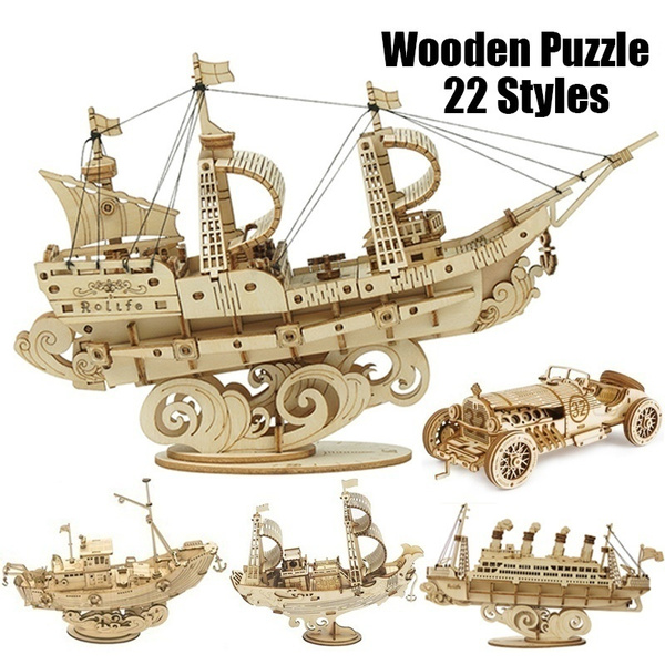 woodencraftpuzzle, woodenassemblemodel, Toy, woodenassemblypuzzle