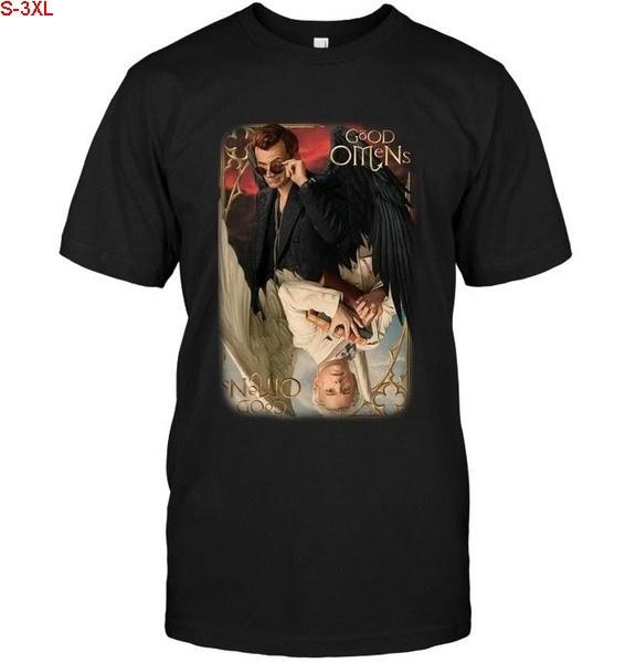 devils, Cotton Shirt, #fashion #tshirt, Angel