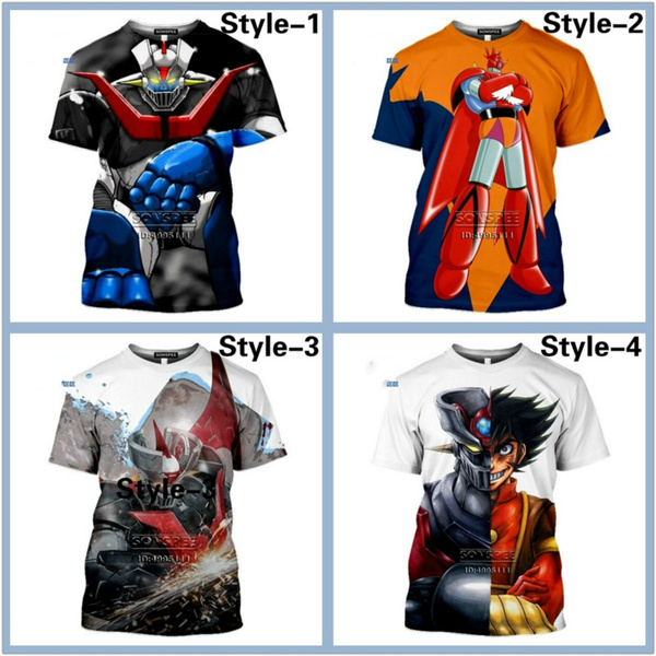 Mens T Shirt, robotknighttshirt, men clothing, Anime
