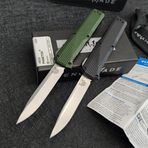 springassisted, otfknife, Combat, Aluminum