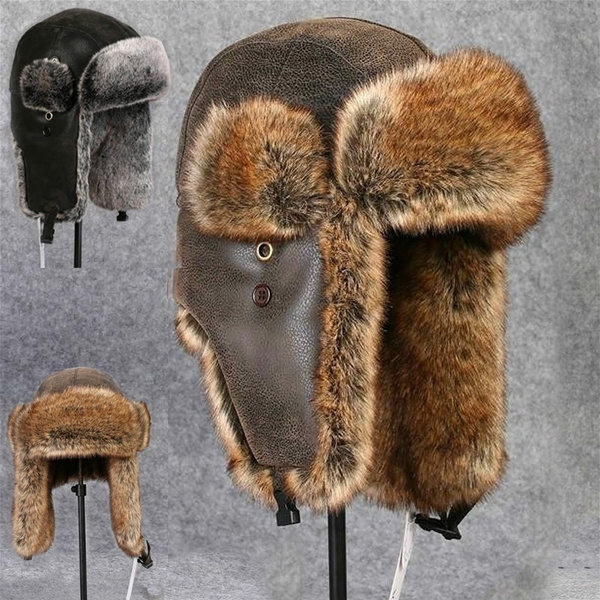 Warm Hat, Beanie, trapperhat, Winter