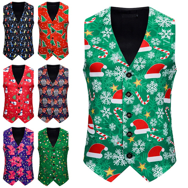 Christmas twal print vest ferro land investments in nc