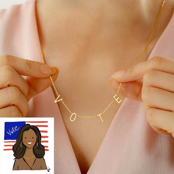 votenecklace, firstladymichelleobama, vote2020, Jewelry