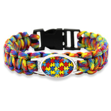 ribbonbracelet, Love, Jewelry, autismpuzzlebracelet