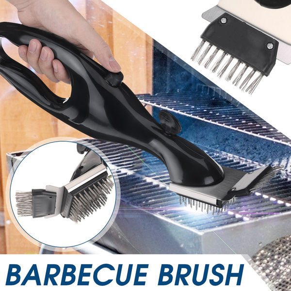 Steel, Grill, Kitchen & Dining, bbqgrillcleaningbrush