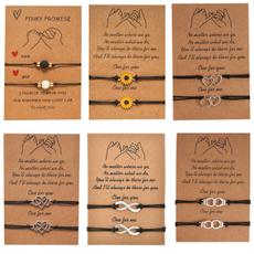 couplesbracelet, Heart, Jewelry, friendshipgift