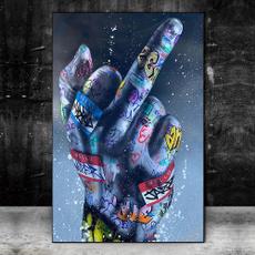 decoration, art, fingeroilpainting, dentaloilpainting