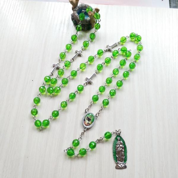 Cross necklace, jaderoller, necklace for women, jade