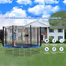 enclosurenet, trampolinewithenclosure, jumpingmat, Sports & Outdoor Play