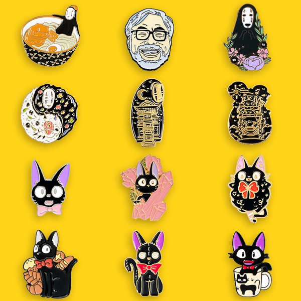 cute, brooches, kikisdeliveryservice, Pins