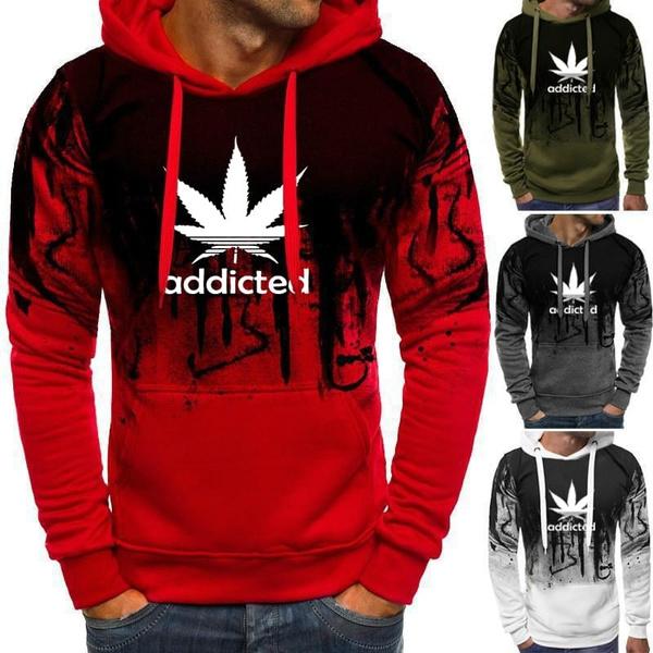 Plus Size, hooded, men fashion, Sleeve