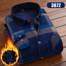plaid shirt, Fashion, velvet, Shirt