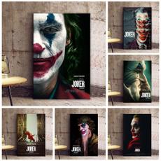 homedecorpainting, art, jokerwallpainting, movieposter