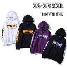 autumnwinter, Fashion, pullover hoodie, thrasher