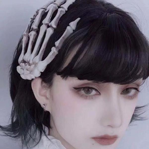 Head, hairornament, Skeleton, Carnival