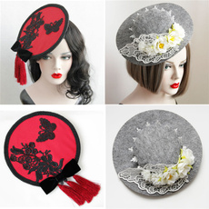 butterfly, Fashion, women hats, Cocktail