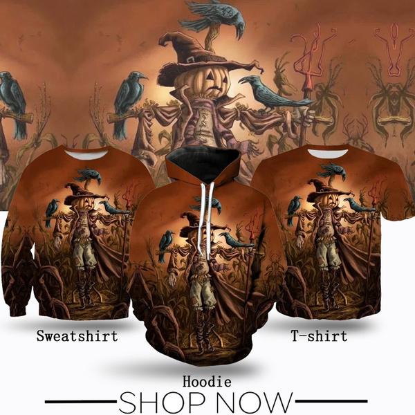 Fashion, Shirt, Print, Halloween
