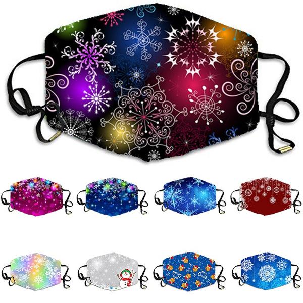 festivalmask, Christmas, Colorful, unisex