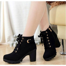 ankle boots, Platform Shoes, knightboot, Womens Shoes
