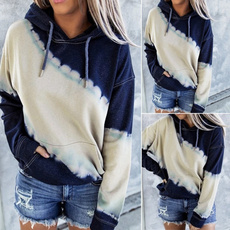 Women, Plus Size, hooded, pullover hoodie