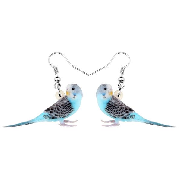 earringforwomen, Blues, earringgift, dangledropearring