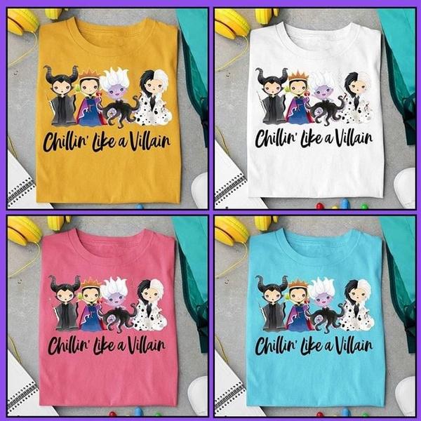 chibi, Fashion, Shirt, Evil