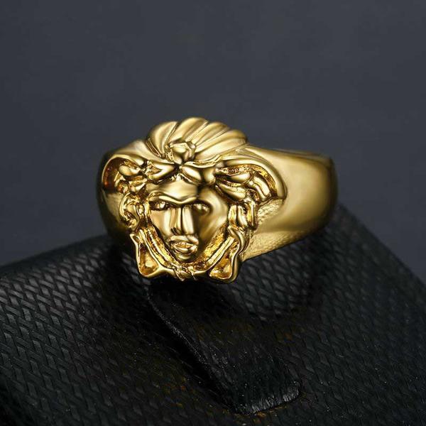 Steel, Jewelry, Mens Accessories, retro ring