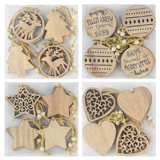 Christmas Decoration, Heart, Christmas, Wooden