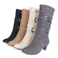 Shoes, midcalfboot, Winter, long boots