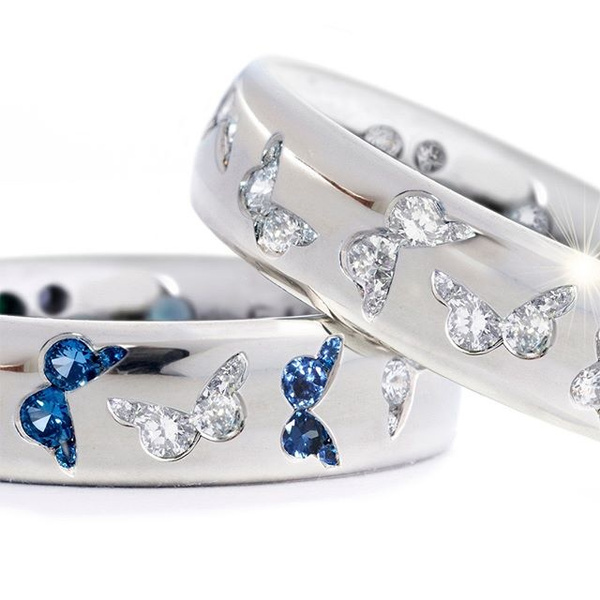 butterfly, DIAMOND, Jewelry, rings for women