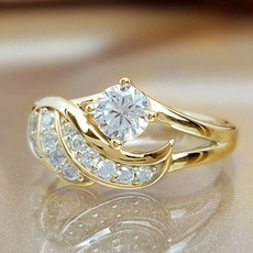 DIAMOND, wedding ring, Angel, Silver Ring