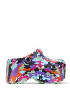 Sandals, caperobbin, multicoloured6, camouflage