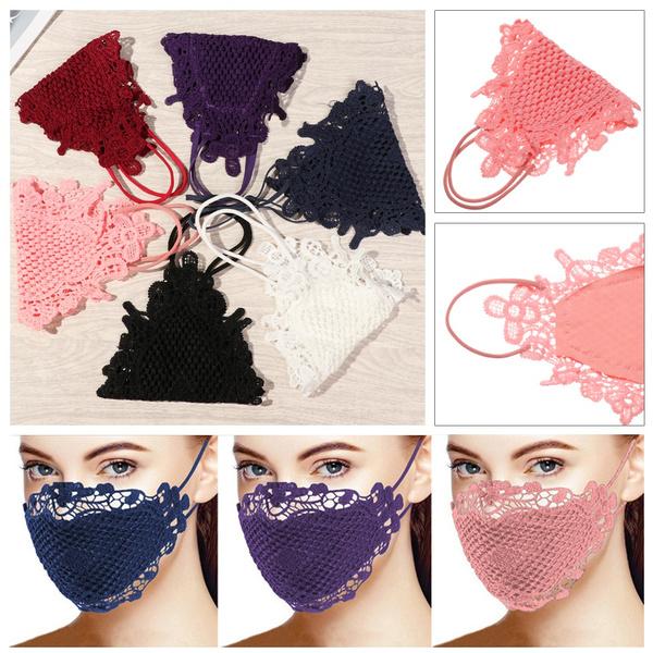 respiratoryhealthcare, dustproofmask, mouthmask, Lace