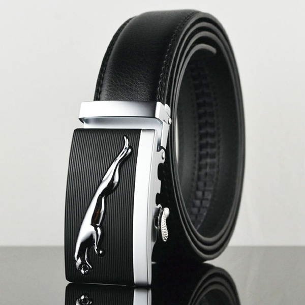 Leather belt, beltsformenwithautomaticbuckle, Mens Accessories, leather