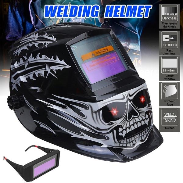 Helmet, weldinghelmet, Electric, grindingtool