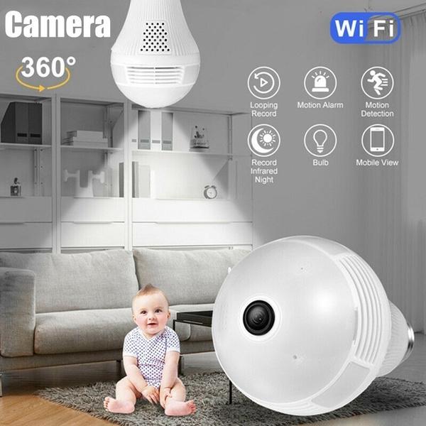 lightbulbcamera, led, outdoorwirelesssecuritycamera, wirelesssecuritycamera
