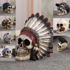 Head, Skeleton, skull, Horror