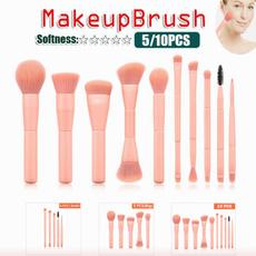 pink, Makeup Tools, Eye Shadow, beautybrush