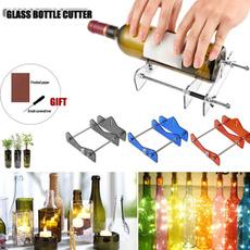 Machine, Bottle, glasscutter, bottlecutting