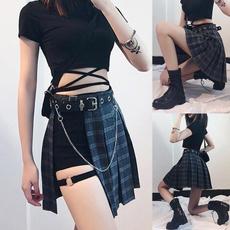 Mini, Fashion Accessory, Shorts, asymmetric