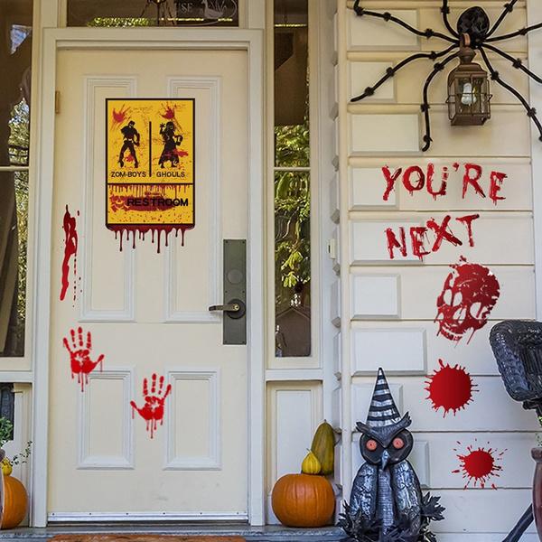 scary, halloweensticker, Refrigerator, Horror
